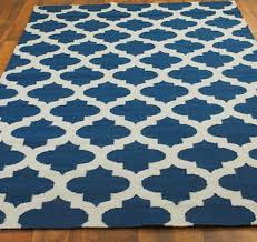 extra blue and white area rug navy vbag pertaining to visionexchange co within decor 19 canada striped wool checd living geometric small