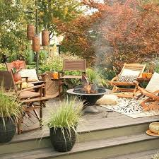 Stylish Decorating Your Patio 55 Cozy Fall Patio Decorating Ideas