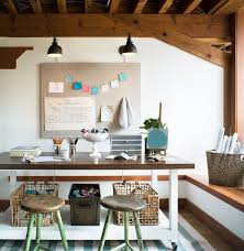 ways to decorate an office. 20 Ways To Decorate Home Office In White An