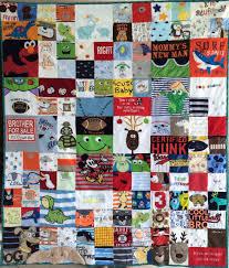 memory quilts – The Patchwork Bear & Original Memory Clothes Quilt 48x60, random pattern Adamdwight.com
