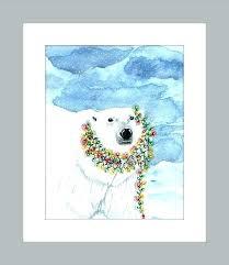 whimsical wall art polar bear watercolor art print whimsical polar bear watercolor art print whimsical wall whimsical wall art whimsical metal fish  on whimsical metal fish wall art with whimsical wall art polar bear watercolor art print whimsical polar