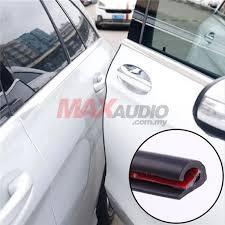 car door edge guard protector anti scratch collision wind sound proof 3m rubber trim strip