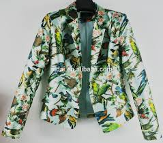 Summer Coat Design 2016 New Design Spring Summer Long Sleeves Ladies Holiday College Woodland Jacket With Twill American Print Buy Official American College