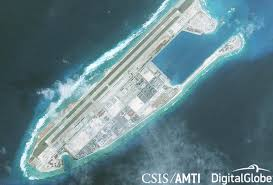 Image result for South China Spratly sea island