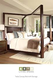 King Bed Frame Fabulous Cheap Canopy Bed Frame Queen King Platform ...