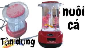 Cách làm bể cá mini từ đèn sạc bình cực đẹp ( Cá cảnh mini ) - YouTube