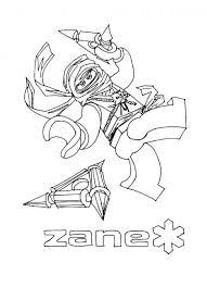 Kleurplaten Online Verbazingwekkend Coloring Pages Ninjago Zane And