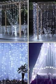Dekoratif Perde Led - Beyaz Işık 3x3m