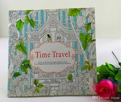 relieve stress kill time 24 pages secret garden series coloring books fantasy dream time travel bird magic mirror drawing book coloring book