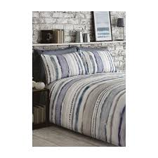 woodstock blue striped duvet cover and
