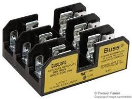 bm6033pq bussmann by eaton fuseholder fuse block 600v 30a bussmann by eaton bm6033pq