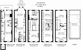 brownstone row house floor plans elegant brownstone floor plans new york city beautiful image from s s
