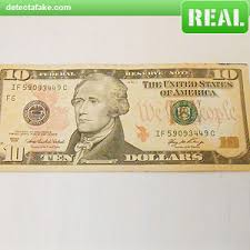 how to spot fake 10 bills 3 steps