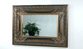 mirror frame wall art mirrored frame wall art exotic arch mirror wall decor design ideas with