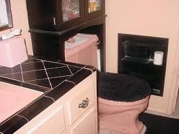 black wallpaper bathroom ideas