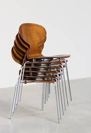 jacobsen furniture. Arne Jacobsen Set Of Six Danish Ant Chairs In Rosewood Fritz Hansen Furniture S