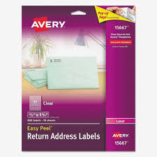 Avery 15667 Word Template