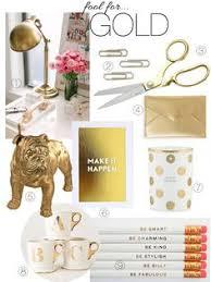 feminine office supplies. Katherine Schwarzenegger Blog: Monochromatic Monday- Fool For Gold · Office SuppliesGold Feminine Supplies