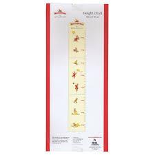 Bunnykins Height Chart 80cm 150cm