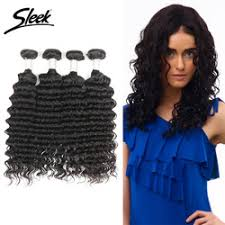Factory Custom Natural Curly Hair Extensions Malaysian Sew