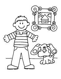 blues clues gingerbread boy. Beautiful Gingerbread Coloring To Blues Clues Gingerbread Boy