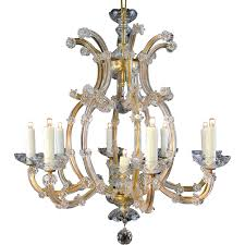 first class maria theresa chandelier 9 light bohemian crystal table m ruby lane