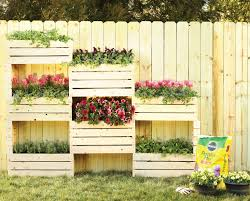 build a wall of flowers for your backyard