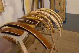custom made wooden bike fenders custom fit