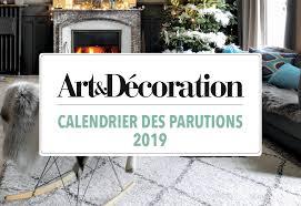 offres calendrier rédactionnel art et décoration 2019