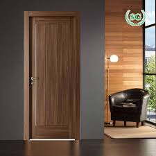 modern interior solid wood doors with glass