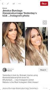 Jessica Burciaga Beautiful Hair Color And