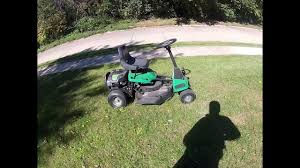weed eater lawn tractor. honest and unbiased review of weedeater one riding lawn mower mini garden tractor - youtube weed eater r