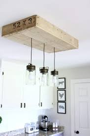 diy palletwood lightbox for kitchen island pendant lighting