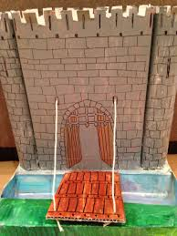 Castle Designs For School Projects Drawbridge School Project Sophies Project School