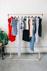 diy clothes rack wood