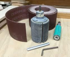drum sander for drill. drum sanders, keys and sandpaper sander for drill