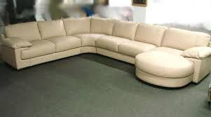 cream colored leather sectional implausible sofa energywarden net home interior 10