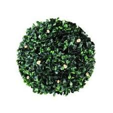 Pre Lit Topiary Part  15 New 6u0027 PreLit Potted Triple Ball Artificial Topiary Trees With Solar Lights