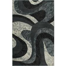 home dynamix catalina gray 8 ft x 10 ft indoor area rug