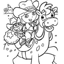 Small Picture Dora Colouring Pages FunyColoring