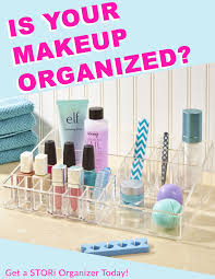 is your makeup organized stori has amazing and beautiful organizers to fit your makeup and cosmetic supply needs from palettes to makeup brushes we have