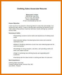 Sales Associate Resume 9 10 Resume Samples For Retail Sales Associate