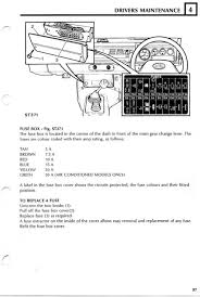 land rover owner • view topic fuse box diagram image