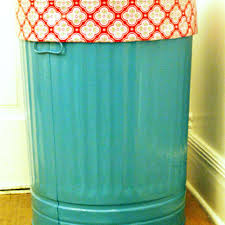 wonderful cyan kitchen trash cans with pattern appliance near white wooden wainscoating and smooth laminate