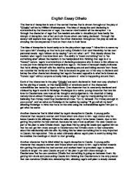 othello essay the theme of deception gcse english marked by  page 1 zoom in