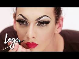 rupaul s drag race ruvealing violet chachki leather and lace runway makeup tutorial logo you makeup technique violet chachki