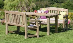 creative outdoor furniture. Chunky Wooden Garden Furniture Creative Outdoor