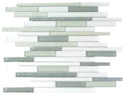 blue gray thin linear glass mosaic wall tile contemporary mosaic tile by abolos
