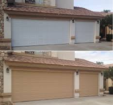 this service is a must for homes located in hoas or home with garage doors that have been painted to match the houses color scheme