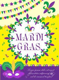 Mardi Gras Designs Mardi Gras Carnival Poster Invitation Greeting Card Happy